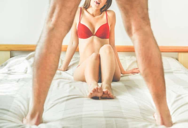 Hübsches Paar bereit, Sex zu haben