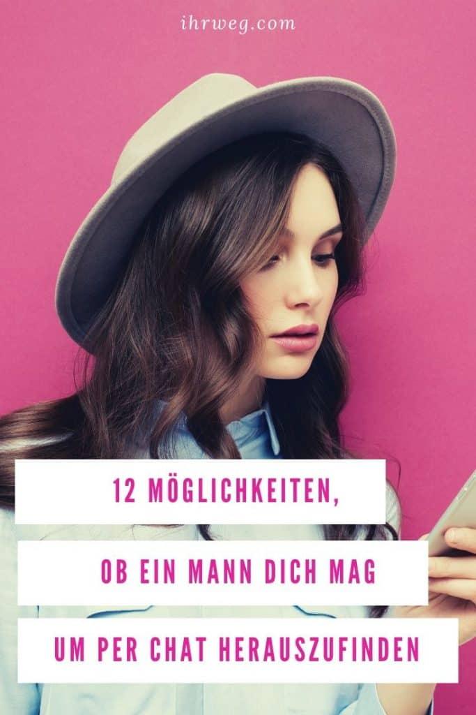 12 Möglichkeiten, Um Per Chat Herauszufinden Ob Ein Mann Dich Mag