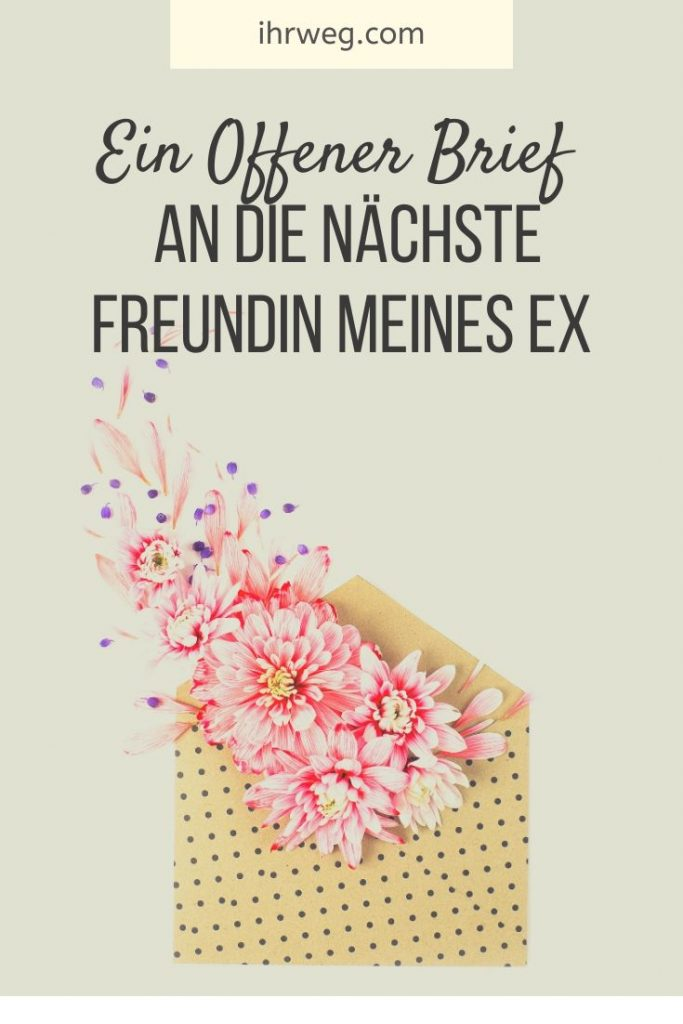 Brief an ex beste freundin
