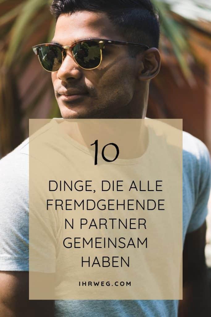 10 Dinge, Die Alle Fremdgehenden Partner Gemeinsam Haben