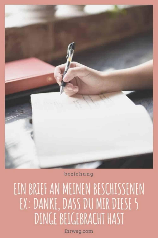 Ein Brief An Meinen Beschissenen Ex, Danke, Dass Du Mir Diese 5 Dinge Beigebracht Hast(1)