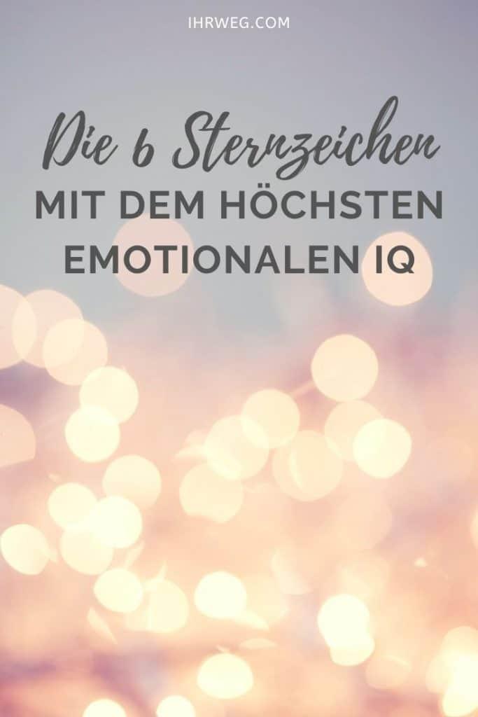 Die 6 Sternzeichen Mit Dem Höchsten Emotionalen IQ