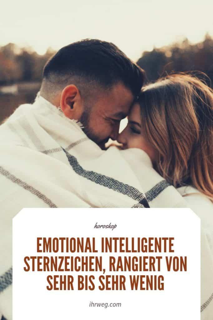 Emotional Intelligente Sternzeichen, Rangiert Von Sehr Bis Sehr Wenig