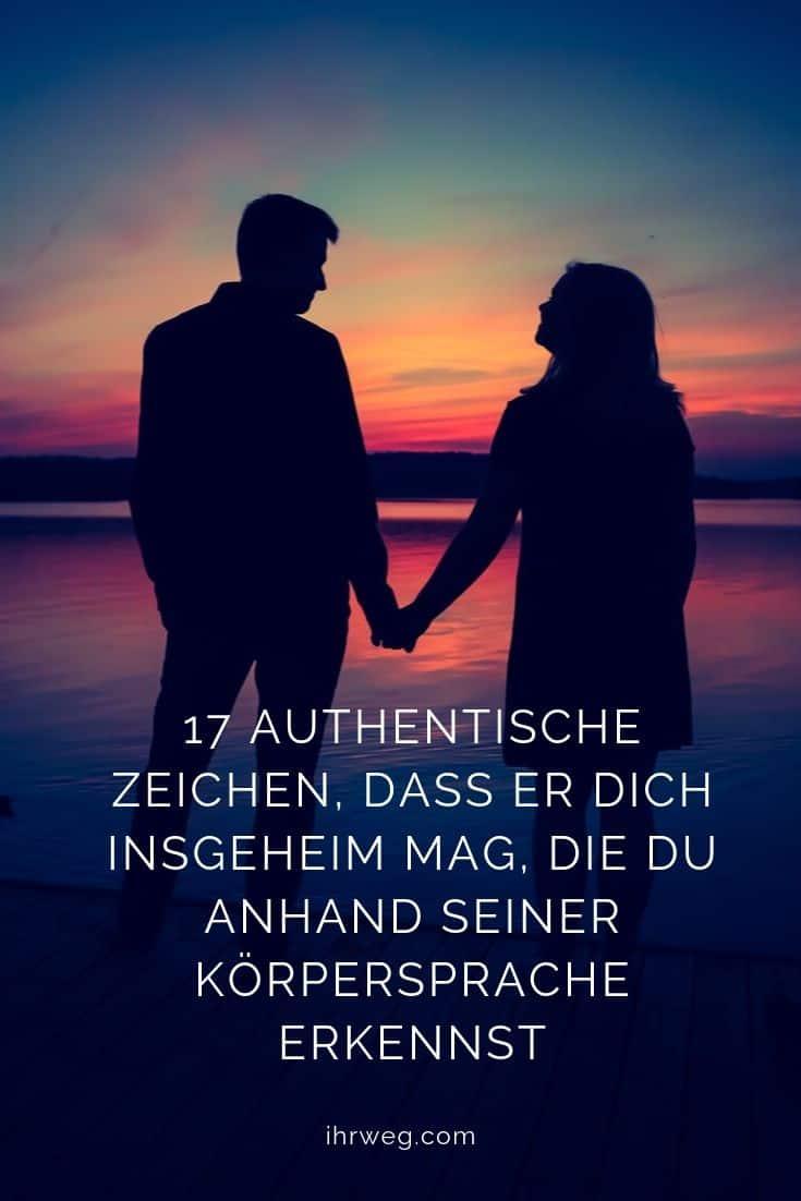 17 Authentische Zeichen, Dass Er Dich Insgeheim Mag, Die Du Anhand Seiner Körpersprache Erkennst