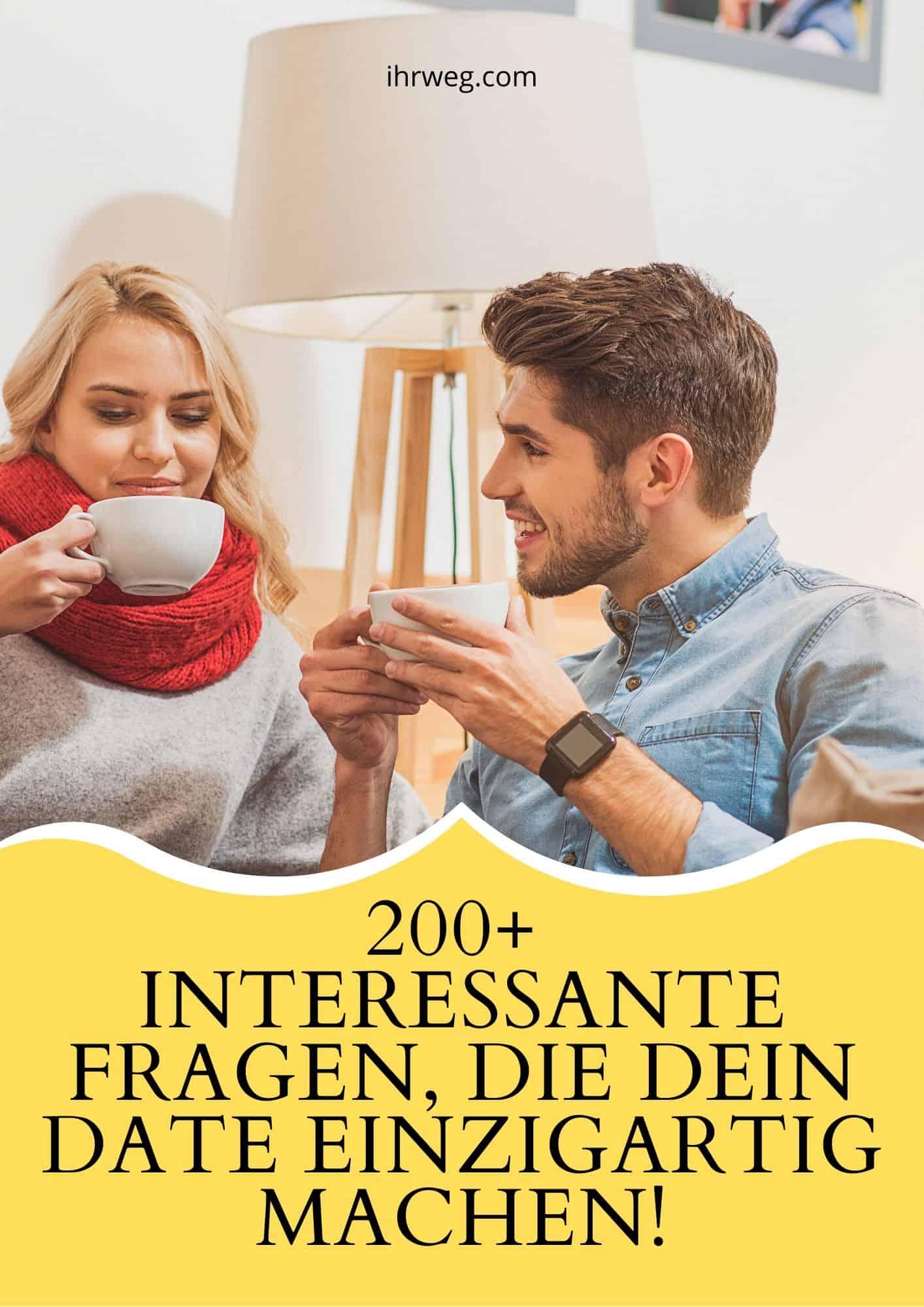 200+ Interessante Fragen, Die Dein Date Einzigartig Machen!
