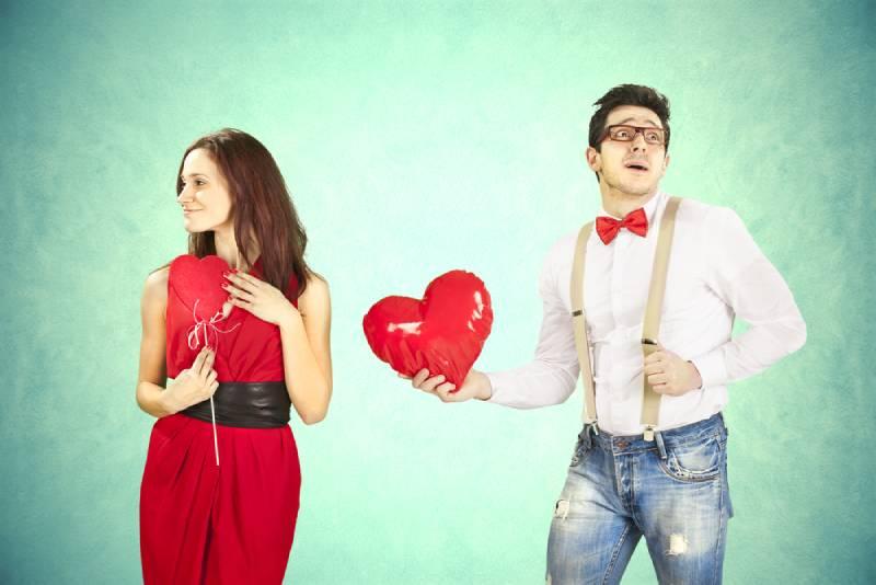 Mädchen will kein Herz vom Jungen