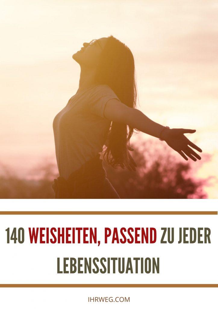 140 Weisheiten, Passend Zu Jeder Lebenssituation
