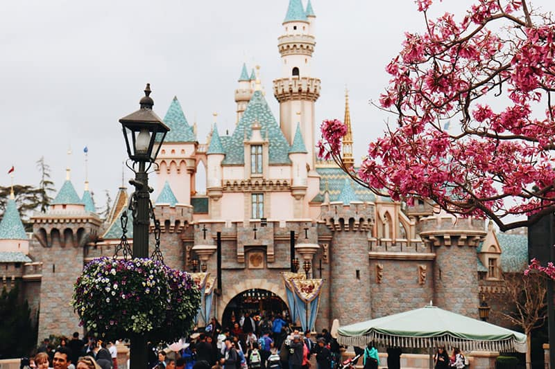 Disney Castle aus Filmen