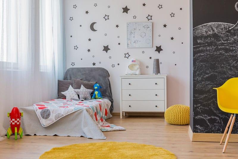 dekoriertes Zimmer für Kinder