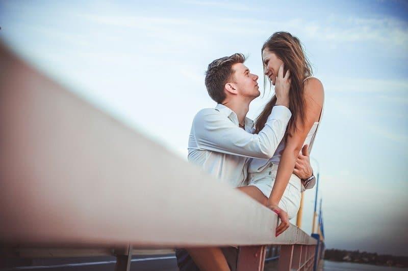 verliebt Mann und Frau