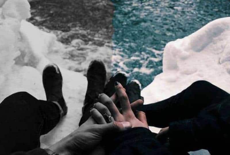 Unsere Beziehung Ging Wegen Dir Zu Bruch
