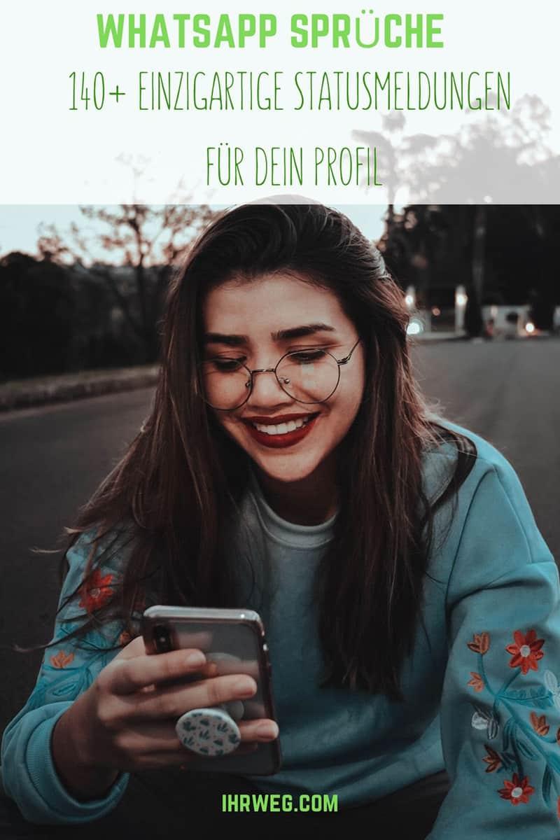 WhatsApp Sprüche - 140+ einzigartige Statusmeldungen für dein Profil