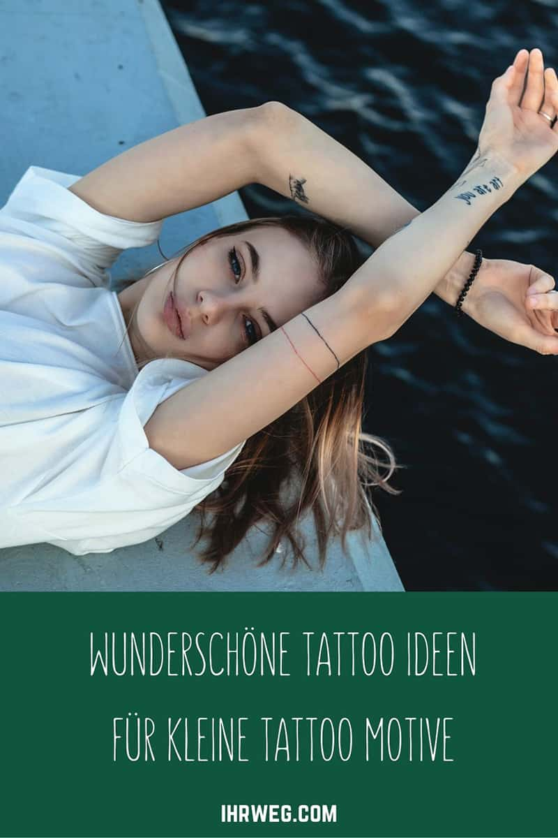 Wunderschöne Tattoo Ideen für kleine Tattoo Motive