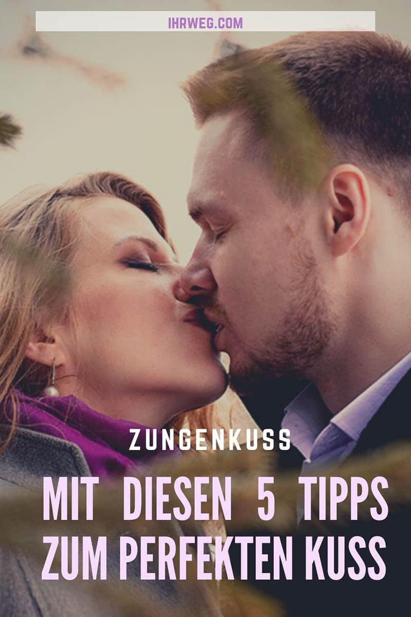 Zungenkuss - Mit diesen 5 Tipps zum perfekten Kuss