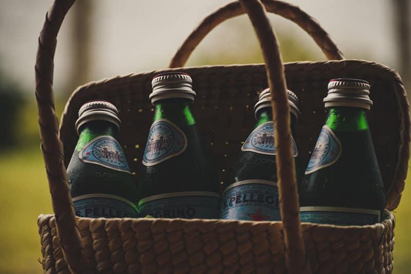Biere im Korb
