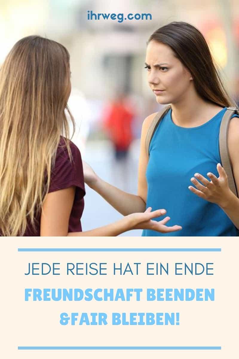 Jede Reise Hat Ein Ende: Freundschaft Beenden Und Fair Bleiben!