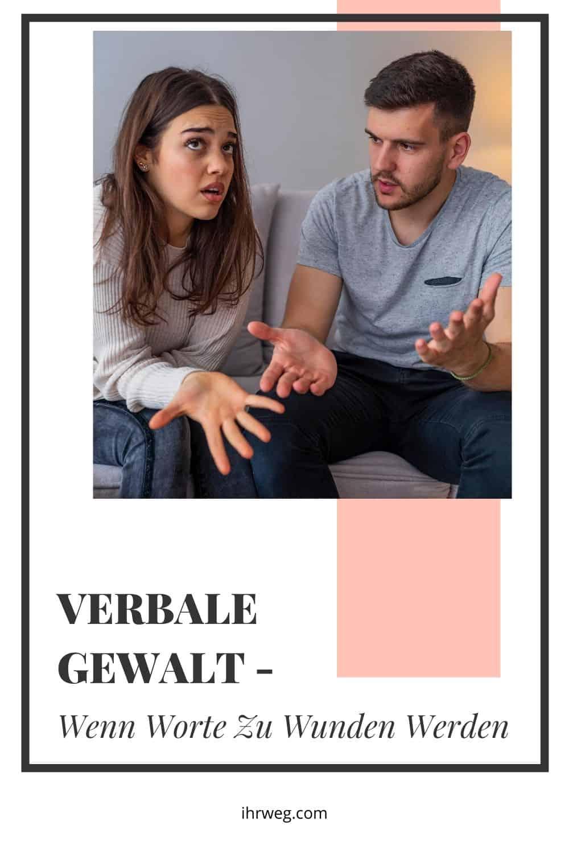 Verbale Gewalt - Wenn Worte Zu Wunden Werden
