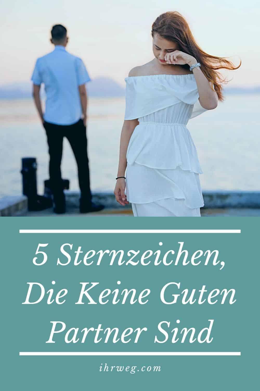 5 Sternzeichen, Die Keine Guten Partner Sind