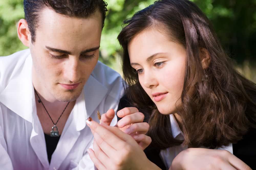 Porträt eines liebenden Paares