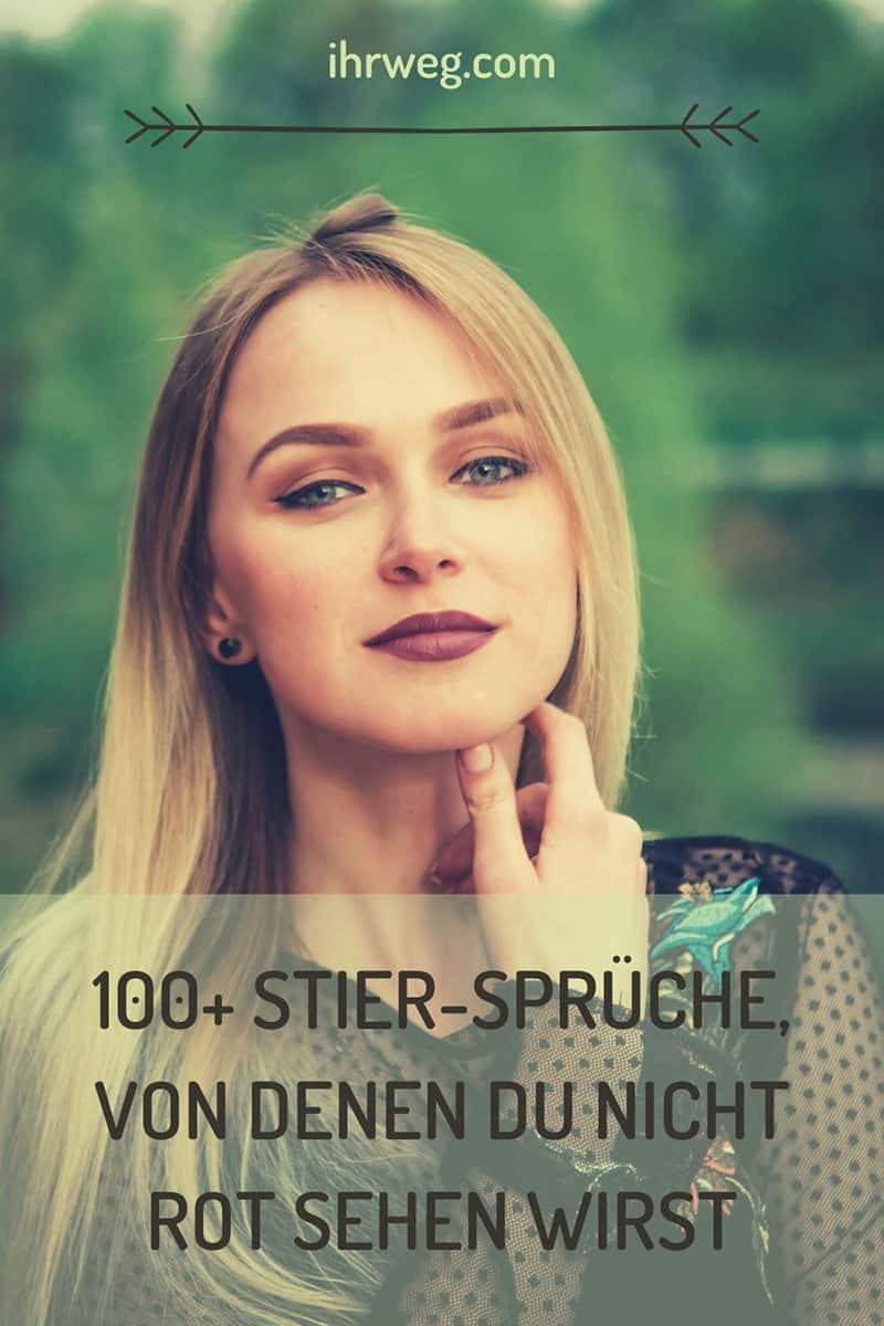 100+ Stier-Sprüche, Von Denen Du Nicht Rot Sehen Wirst