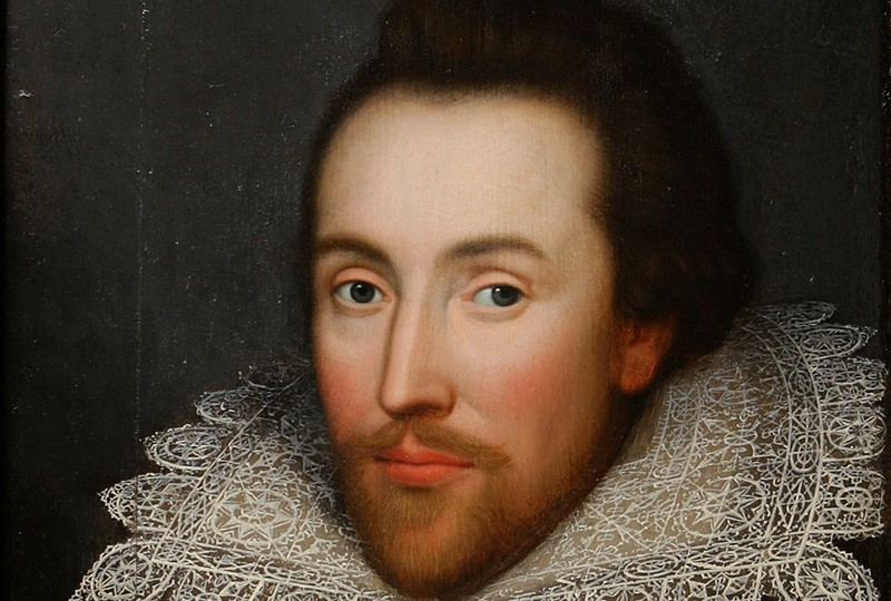 william shakespeare Porträt