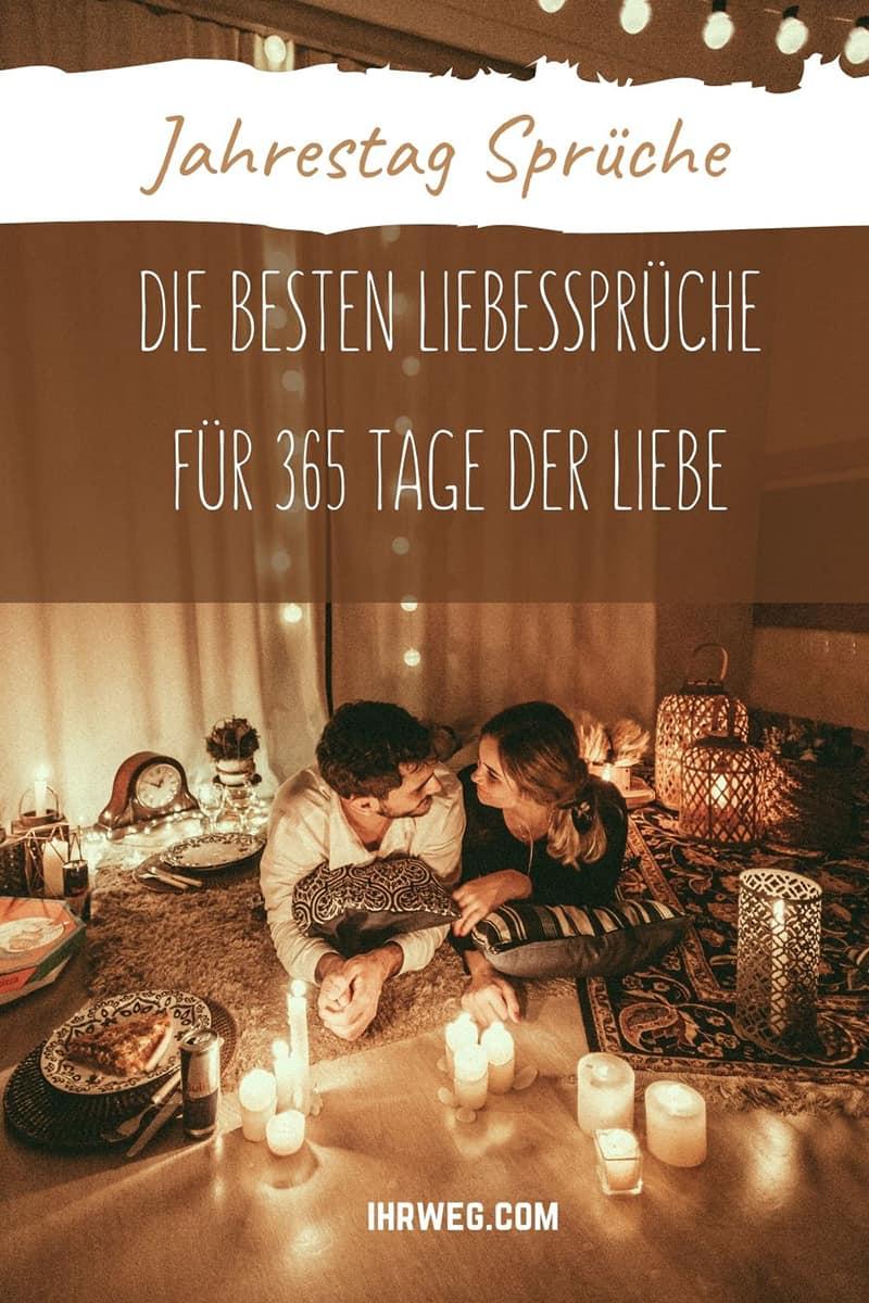 Jahrestag Sprüche: Die Besten Liebessprüche Für 365 Tage Der Liebe