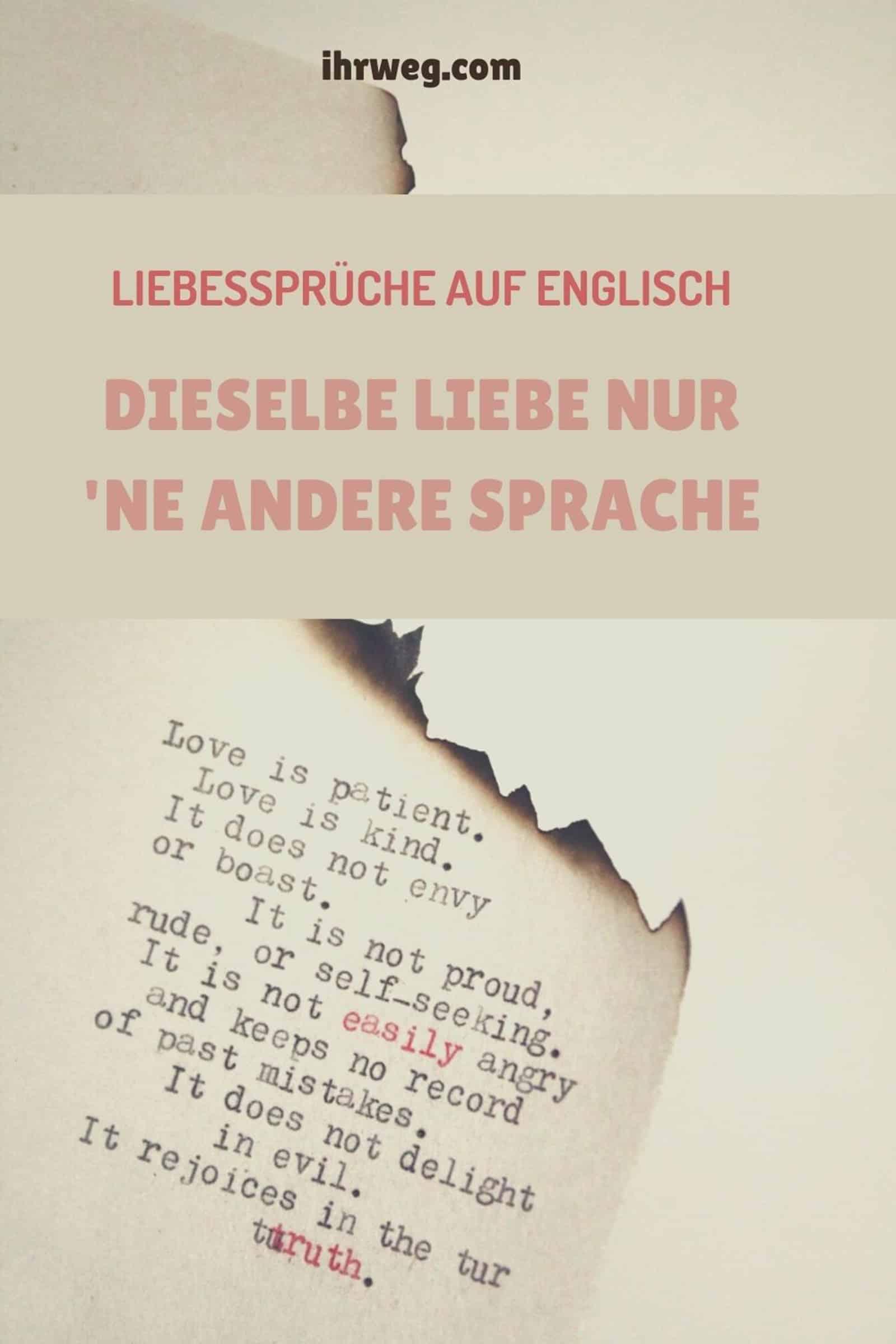 Sprüche liebeskummer englische Liebeskummer Sprüche