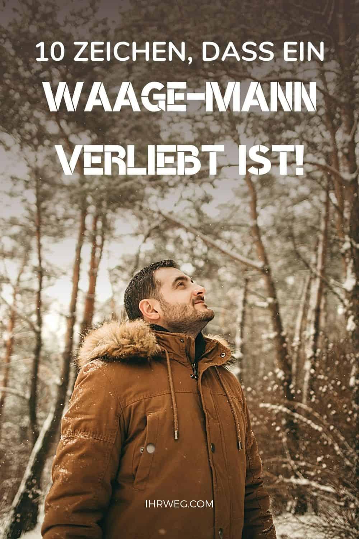 10 Zeichen, Dass Ein Waage-mann Verliebt Ist!