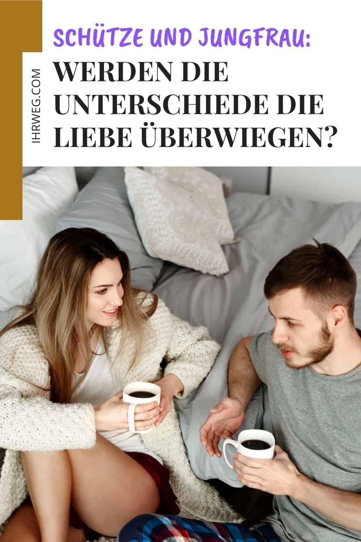 Schütze und Jungfrau: Werden die Unterschiede die Liebe überwiegen?
