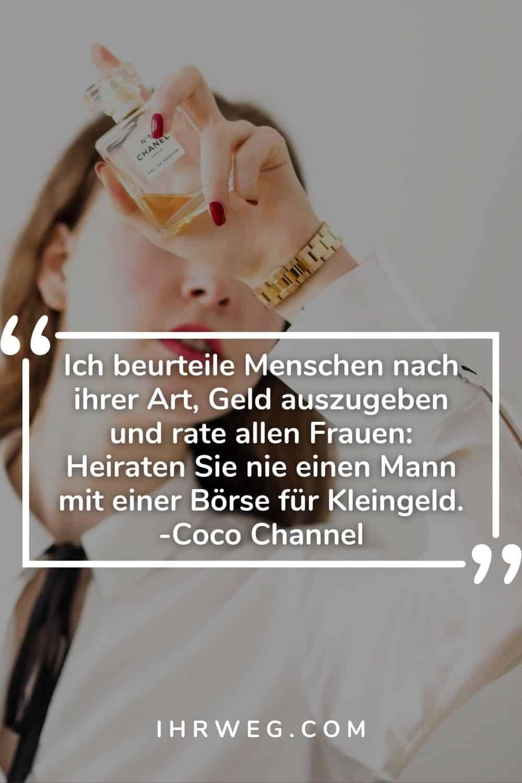 Chanel alter frau zitat coco Coco Chanel