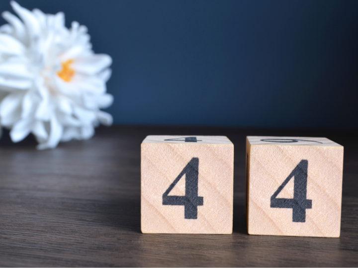 44 Bedeutung: Die doppelte Vier bringt doppelten Erfolg!