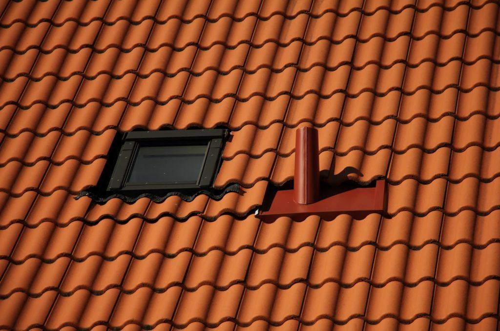orange dachziegel